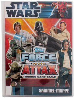 Force Attax Movie Cards   1 Sammelmappe / Album (LEER)   DEUTSCH   Star Wars Spielzeug