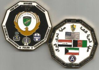 352D Civil Affairs Command Detachment XV AIRBORNE OIF OEF 2009 Challenge Coin