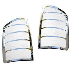 Nova Chrome Taillight Guard Tail Light Trim Lamp Cover 2 PCs Automotive
