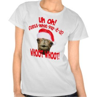 Hump Day Camel Christmas T shirt