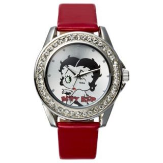 Betty Boop Analog Wristwatch   Red