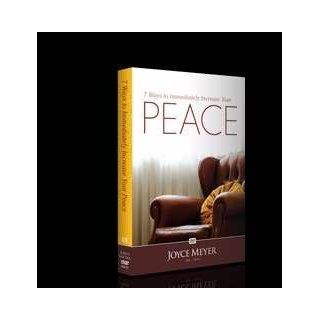 Seven Ways to Immediately Increase Your Peace by Joyce Meyer (DVD): Meyer Joyce: Movies & TV