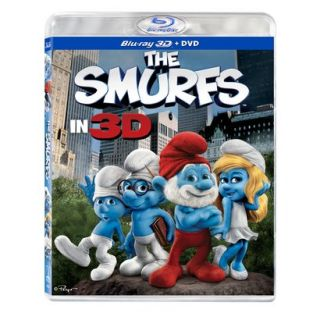 The Smurfs in 3D (3 Discs) (3D/2D) (Blu ray/DVD)