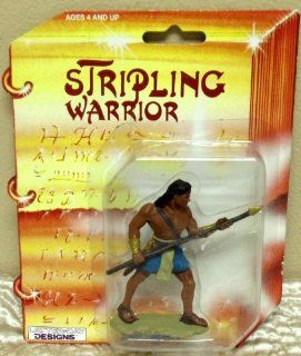 "Retired Hard to Find LDS Mormon Stripling Warrior 3"" Action Figure Doll Toys & Games"