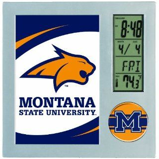NCAA Montana State Bobcats Digital Desk Clock : Sports Fan Wall Clocks : Sports & Outdoors