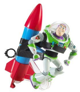 Toy Story Rocket Running Buzz Lightyear Toys & Games