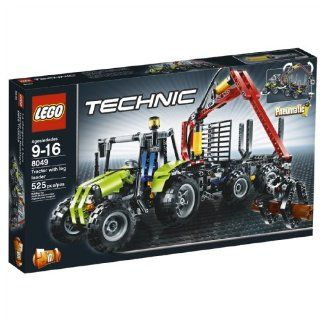 LEGO TECHNIC Log Loader (8049): Toys & Games