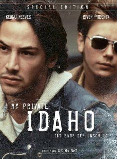 My Private Idaho [Special Edition] [2 DVDs]: River Phoenix, Keanu Reeves, William Richert, James Russo, Rodney Harvey, Chiara Caselli, Bill Stafford, Gus Sant, Laurie Parker, Eric Alan Edwards, John J. Campbell: DVD & Blu ray