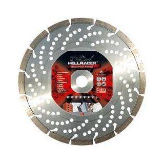 Diewe Diamantscheibe Hellracer 230 mm Eisen Beton Waschbeton Diamanttrennscheibe Granit Ziegel Diamant Trennscheibe mit DFX Technology: Garten