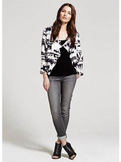 Mint Velvet Cara print jacket Multi Coloured