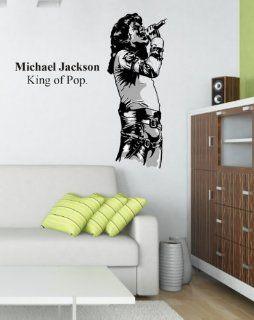 Wandsticker Michael Jackson Nr. 254 Wandaufkleber Wandmotiv Küche & Haushalt