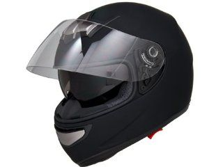 DOT Approved Motorcycle Helmet Full Face w/ Air Pump System + Dual Smoke Visor EVOS Sport Street Bike Cruiser Scooter Snowmobile ATV Helmet   Medium: Automotive