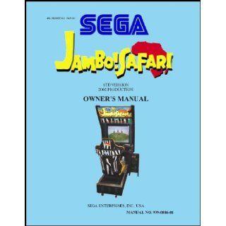 Jambo Safari Arcade Game Service & Repair Manual Sega Books