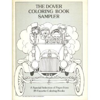 The Dover Coloring Book Sampler (the Wind in the Willows Coloring Book): George Douglas   Publishers Central Bureau, Assorted: Books