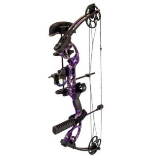G5 Radical DTH Compound Bow Package LH 40 lbs. Realtree AP Purple 780078