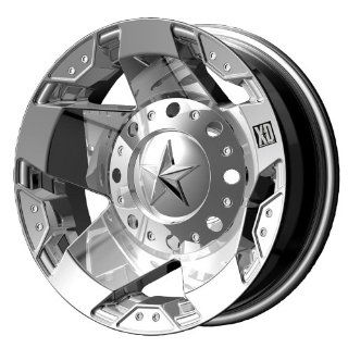 "KMC Wheels XD Series Rockstar Dually XD775 Chrome Rear Wheel (17x6""/8x200mm): Automotive"