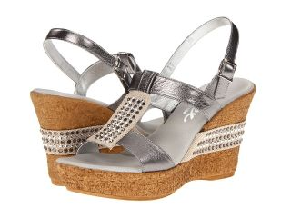 Onex Daniela Womens Wedge Shoes (Pewter)