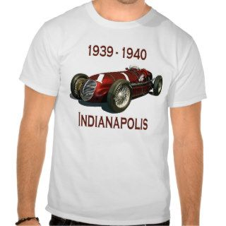 Shaw Maserati 8CTF Indy Car Shirts