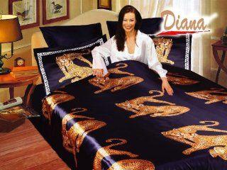 Diana   Tiger   Duvet Cover Bed in Bag   Queen Bedding Set   DI283Q   Quilts