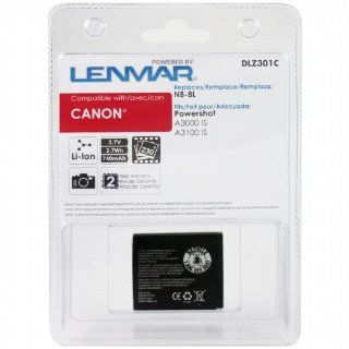 Lenmar DLZ301C Canon NB 8L Battery for Canon Powershot A3000 IS, A3100 IS IS Series Digital Cameras  Camera & Photo