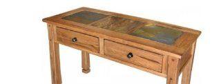 Shop Sedona Sofa/ Console Table w/ Slate Top at the  Furniture Store