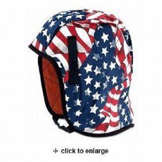 Winter Liner for Hard Hat US Flag   Hardhat Accessories