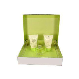 Versace Versense 3 Piece Gift Set   Eau de Toilette, Body Lotion, Bath & Shower Gel  Beauty