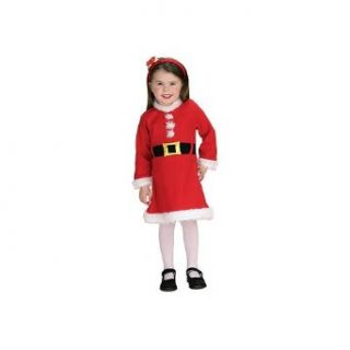 Santa Claus Girl Newborn Christmas Costume Size 0 9 months Clothing