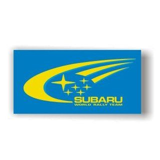 BIG SUBARU RALLY TEAM IMPREZA LEGACY FLAG SIGN BANNER: Automotive
