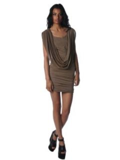 Gracia Womens Sleeveless Tunic Dress   Taupe   Small at  Women�s Clothing store
