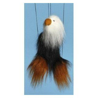 Bald Eagle (Black) Small Marionette: Toys & Games