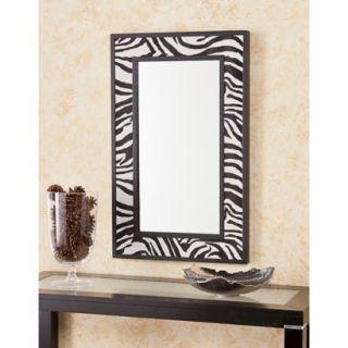 Southern Enterprises Decorative Wall Mirror   Bl