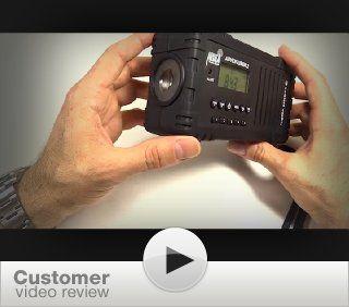 Ambient Weather WR 335 ADVENTURER2 Emergency Solar Hand Crank AM/FM/SW/WB Weather Alert Radio, Flashlight, Siren, Smart Phone Charger