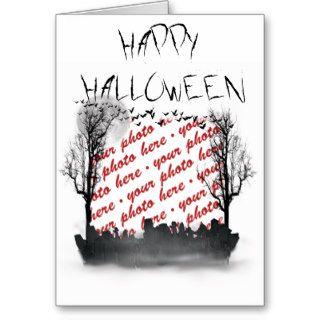 Halloween Scene Photo Frame Cards