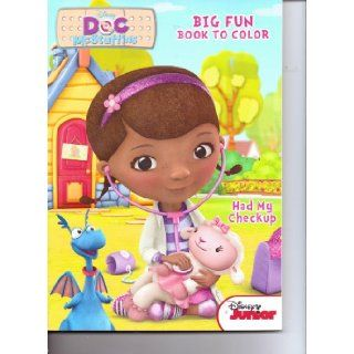 Doc McStuffins Big Fun Book to Color ~ Had My Checkup: Disney Enterprises: 9781453068731: Books