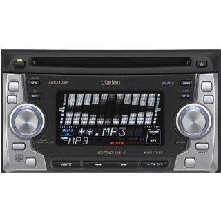 Clarion ADB340MP AM / FM / CD / MP3 / Cassette Player : Vehicle Receivers : Electronics