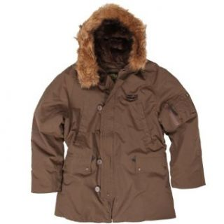 Alpha Industries Alaska N 3B Parka, Brown Size 4XL Clothing
