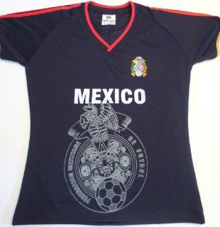 WOMEN MEXICO AWAY SOCCER JERSEY ONE SIZE FITS ALL. FUTBOL .NEW : Sports & Outdoors
