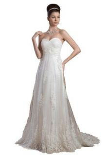 herafa Wedding Dress Elegant NO.w35596 at  Women�s Clothing store: