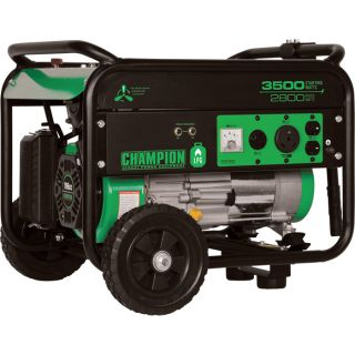 Champion Power Equipment Propane Generator — 3500 Surge Watts, 2800 Rated Watts, CARB-Compliant, Model# 76530  Portable Generators