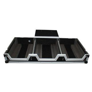 PROX XS CDM2000WLT DJ FLIGHT COFFIN CASE FITS PIONEER 900 NEXUS MIXER AND PIONEER CDJ 2000 WITH LAPTOP SHELF: Musical Instruments