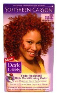 Dark & Lovely Color #376 Red Hot Mary (3 Pack) with Free Nail File Health & Personal Care