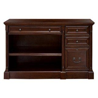 """Mount View Office Collection Internet Credenza (Cherry Cobblestone) (30""""H x 48""""W x 22""""D) : Computer Desks : Office Products"""