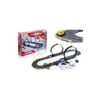 Dual Lane International loop Slot car Race Track Set   Formula 1 RC Spin Drive Race Set Toys & Games