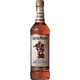 Captain Morgan Rum Silver Spiced 750ML Grocery & Gourmet Food