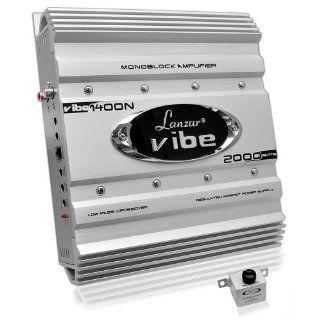 Lanzar VIBE422 Vibe 2000 Watt 4 Channel Mosfet Amplifier Electronics