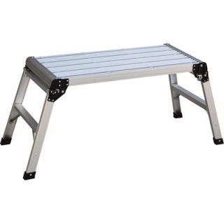 Vestil Aluminum Folding Step Platform 250 Lb Capacity 19 1 2in Opened Height Model AFSP 2 Platforms