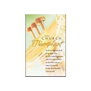 Bulletin Gaither/Church Triumphant (Package of 100) : Bulletin Boards : Office Products