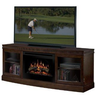 Shop Dimplex Wickford Electric Fireplace Media Console in Walnut at the  Home D�cor Store. Find the latest styles with the lowest prices from Dimplex