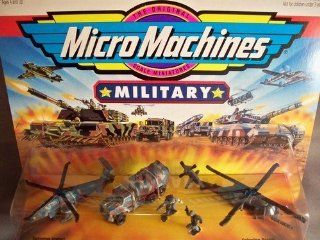 Micro Machines Military Terror Troops #9 Thunder Force: Toys & Games